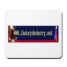 www.ihatejohnkerry.net mouse pad.