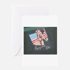 American Pie Nose Art Greeting Cards