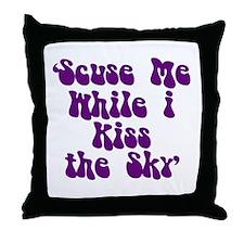 'Scuse Me' Throw Pillow