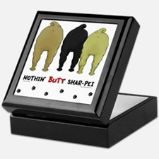 SharPeiButts Keepsake Box