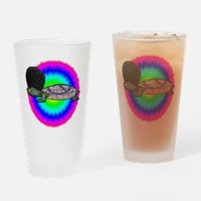 Afro Turdy 2x2 Drinking Glass