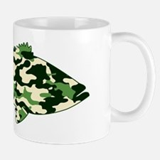 camo bass rectangle Mug