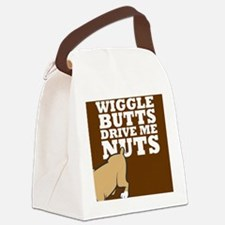 wigglebutts Canvas Lunch Bag
