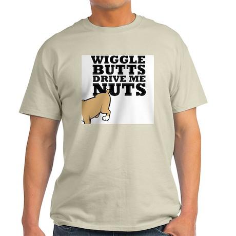 wigglebutts-black Light T-Shirt