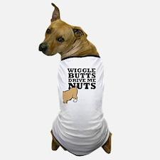 wigglebutts-black Dog T-Shirt