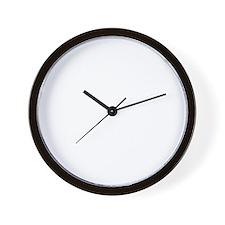 10x10 Center White Wall Clock