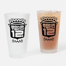 10x10 Center Black Drinking Glass