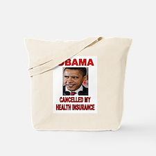 OBAMA CANCELLED Tote Bag