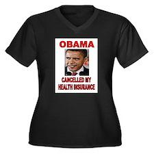 OBAMA CANCELLED Plus Size T-Shirt