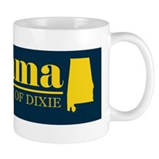 2-Alabama Gold Bumper 2 Mug