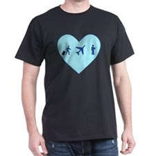 Flight Day Heart3 T-Shirt