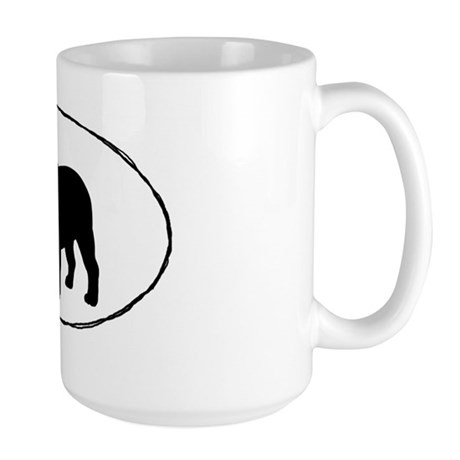 bulldogsticker Large Mug
