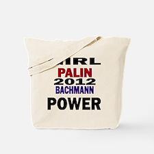palin_bachmann_girlpower Tote Bag