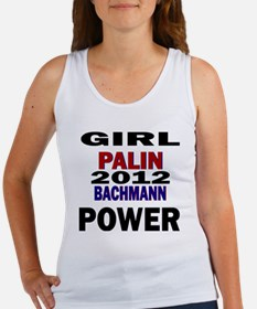 palin_bachmann_girlpower Women's Tank Top