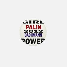 palin_bachmann_girlpower Mini Button