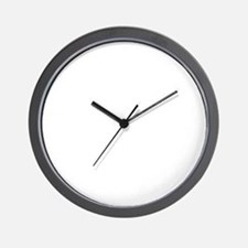 RIGHTWINGEXTREMIST-WHITE Wall Clock