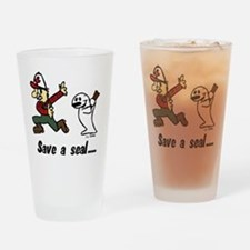 club png Drinking Glass