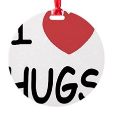i-heart-HUGS01 Ornament