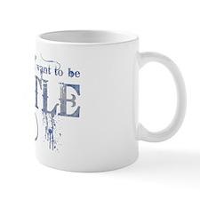 Castle Blue Mug