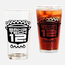 Boxer Shorts Black Drinking Glass