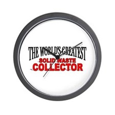"""The World's Greatest Solid Waste Collector"" Wall"