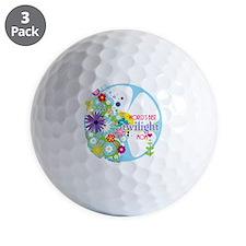 worlds best twilight mom aqua Golf Ball