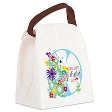 worlds best twilight mom aqua Canvas Lunch Bag