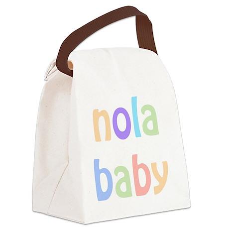 NOLA Baby Canvas Lunch Bag