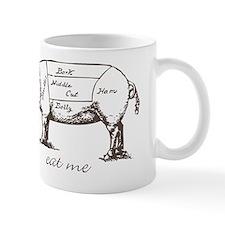 Eat Me Pork Dark Mug