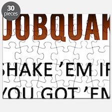 Boobquake Puzzle