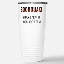 Boobquake Travel Mug