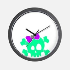 ZombieBoysLayout01 Wall Clock
