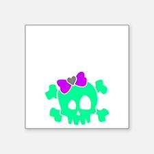 "ZombieBoysLayout01 Square Sticker 3"" x 3"""