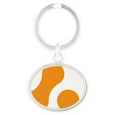 Marque10x10Hi Oval Keychain