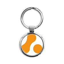 Marque6x6 Round Keychain