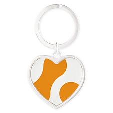 2-12x12 Heart Keychain