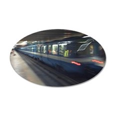 mtl_metro_note 35x21 Oval Wall Decal