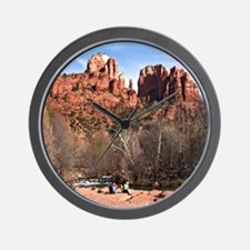 CathR1covsm Wall Clock