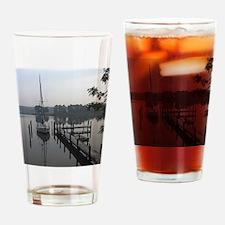 eastern-shore_dock_1_note Drinking Glass