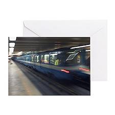 mtl_metro_post Greeting Card