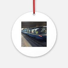 mtl_metro_post Round Ornament