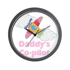 copilot girl Wall Clock