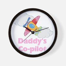 copilot girl Wall Clock