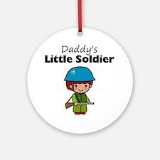 little soldier boy Round Ornament