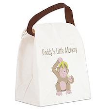 little monkey Canvas Lunch Bag