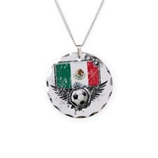 Soccer fan Mexico Necklace