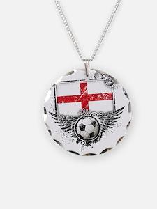 Soccer fan England Necklace