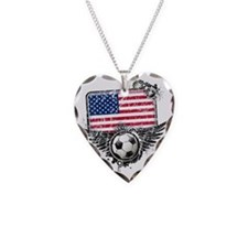 Soccer fans USA Necklace