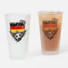 Soccer fan Germany Drinking Glass