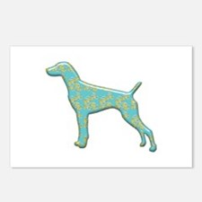 Paisley Pointer Postcards (Package of 8)